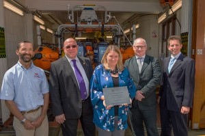 CIAT award ceremony - W Cowes Lifeboat Station 21 July 2015