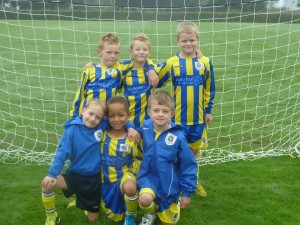 Romsey U7s 'Panthers' Sep 2014
