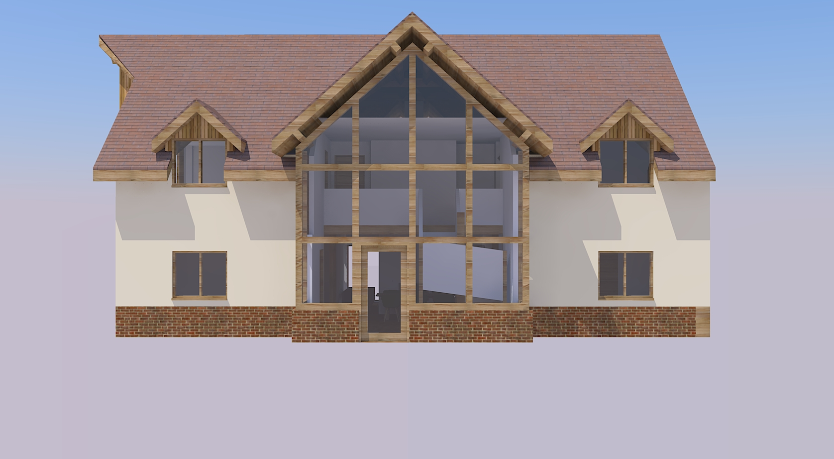Front Elevation Planning Permission : New house in hampshire obtains planning permission